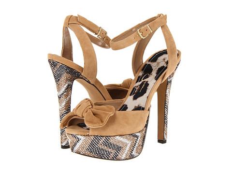 Pantofi Jessica Simpson - Eve - Nude Zig Zag