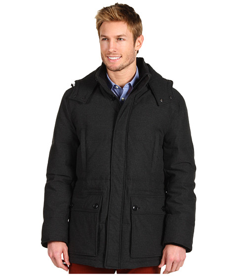 Jachete Cole Haan - Flannel Down Parka - Charcoal