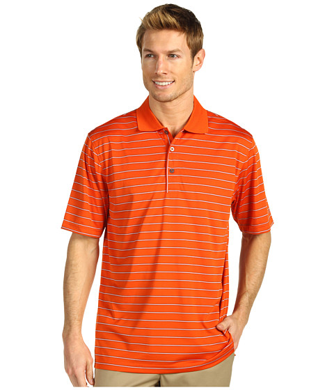 Tricouri IZOD - S/S Polyster Polo w/ Wicking and UV Finishing - Burnt Ochra