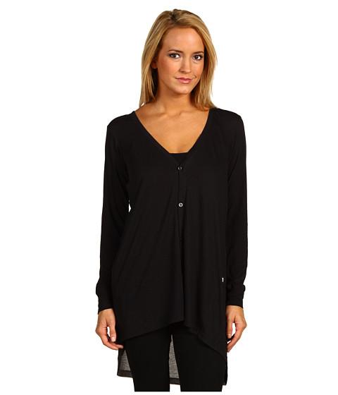 Bluze adidas - W Cas Jersey Cardigan - Black