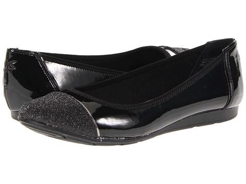 Balerini Anne Klein - Alaner - Black Patent/Black Sparkle