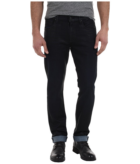 Blugi 7 For All Mankind - The Straight Color Coated Denim - Black