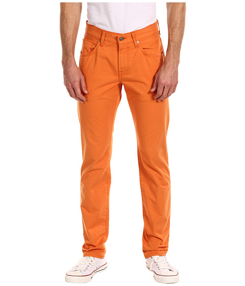 Pantaloni 7 For All Mankind - The Straight Colored Weft Twill - Citrus