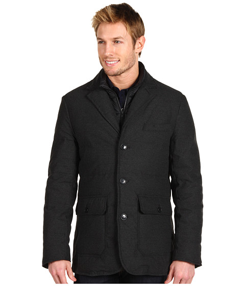 Jachete Cole Haan - Flannel Down Blazer - Charcoal