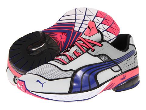 Adidasi PUMA - Toori Run Y - Gray Violet/Spectrum Blue/Fluo