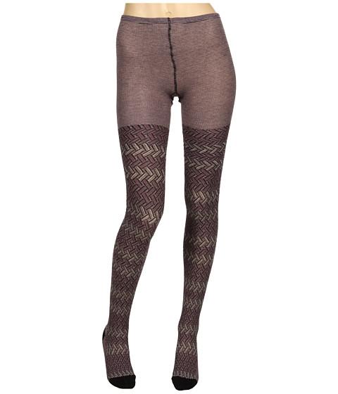 Lenjerie Missoni - Desideria Zigzag Stockings - Purple
