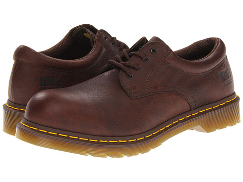 Pantofi Dr. Martens - 2216 ST 4 Eye Padded Collar Gibson - Bark/Industrial Bear