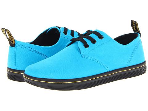 Pantofi Dr. Martens - Aldgate 3-Eye Shoe - Sunny Blue Canvas