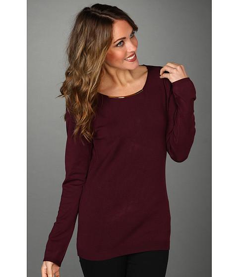 Tricouri Calvin Klein - L/S Sweater w/ Hardware - Fig