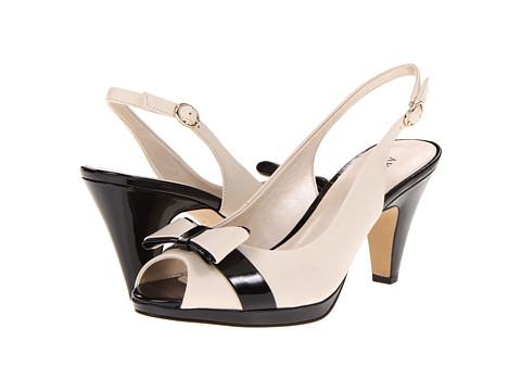 Pantofi Anne Klein - AK7Eloise - Light Natural/Black