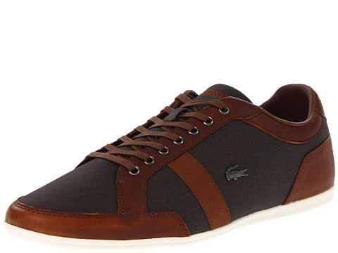Adidasi Lacoste - Alisos 5 - Dark Brown/Tan