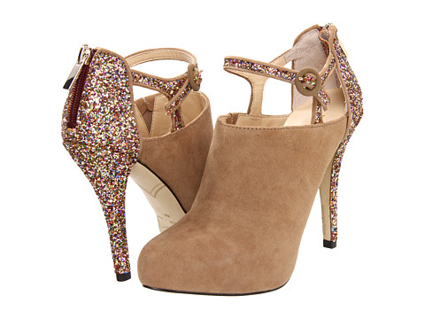 Pantofi Enzo Angiolini - Yoursonly - Natural Suede/Glitter