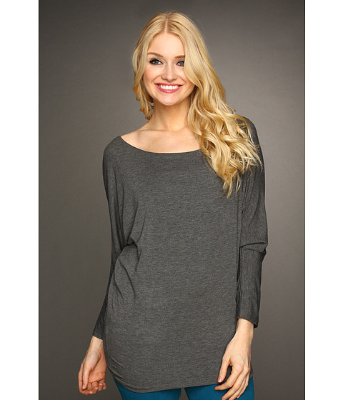 Bluze Christin Michaels - Bonny Synched Arm Top - Grey