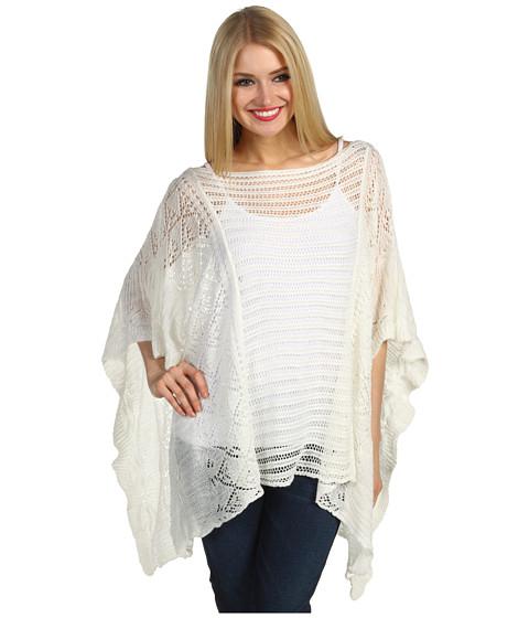 Bluze Christin Michaels - Vista Knit Sweater - White