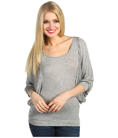 Bluze Christin Michaels - Annabelle Big Sleeve Top - Grey