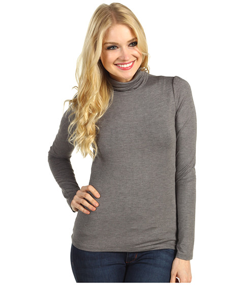 Bluze Christin Michaels - Hillary Long Sleeve Turtleneck - Grey