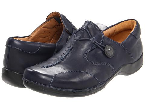 Pantofi Clarks - Un.maple - Navy Leather
