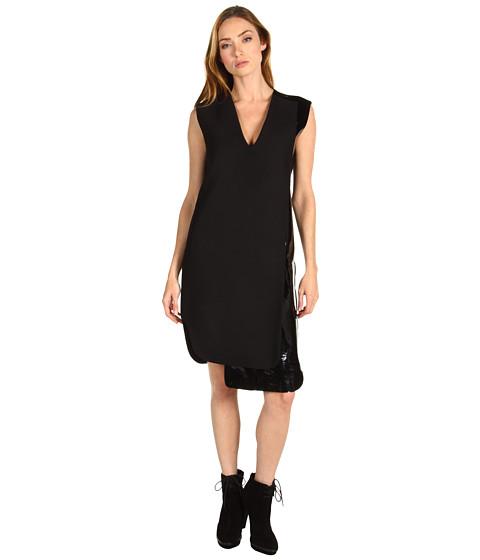 Rochii Costume National - Dress + Vinyl - Charcoal