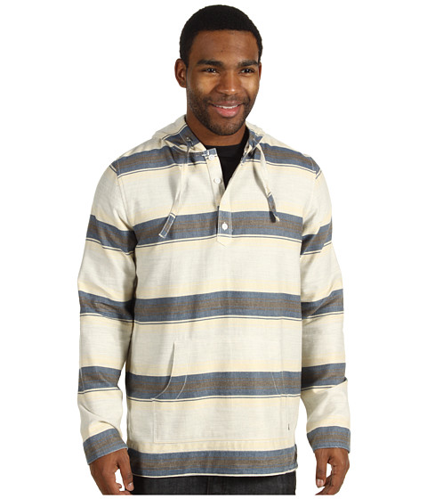 Bluze Element - Meridian Flannel Poncho - Natural