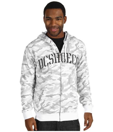Bluze DC - Rob Dyrdek Covert Zip Hoodie - White