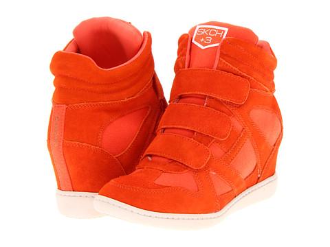 Adidasi SKECHERS - SKCH Plus 3- Raise The Bar - Orange