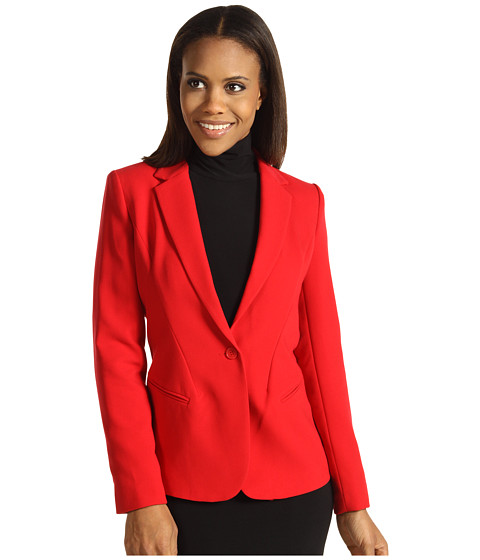 Sacouri Calvin Klein - Seamed Jacket - Rouge