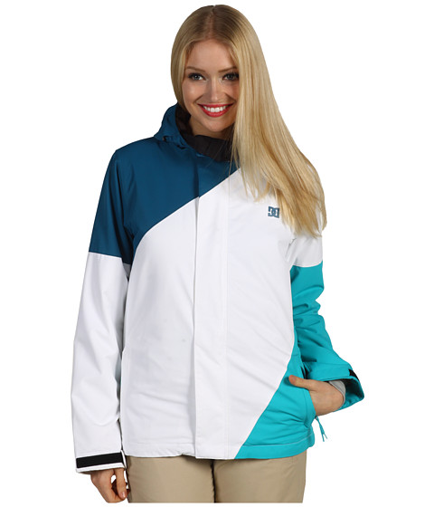 Jachete DC - Fuse \13 Snowboarding Jacket - Seaport/White/Aegean