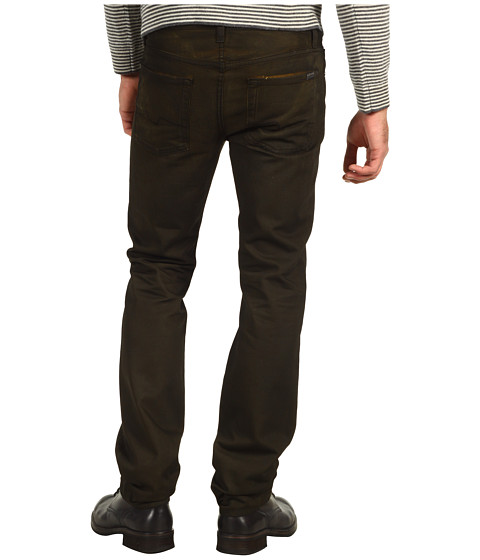 Blugi 7 For All Mankind - Slimmy Slim Straight Fall Twill - Harvest Yellow