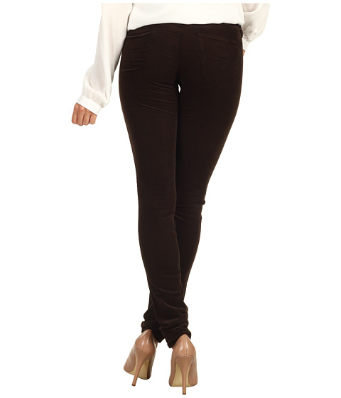 Pantaloni AG Adriano Goldschmied - The Legging Velvet Corduroy - Coffee Bean