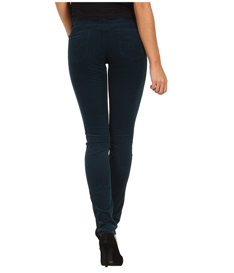 Pantaloni AG Adriano Goldschmied - The Legging Velvet Corduroy - Juniper