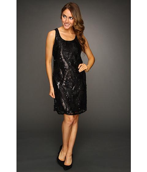 Rochii DEPT - Sequin Lace Dress - Black