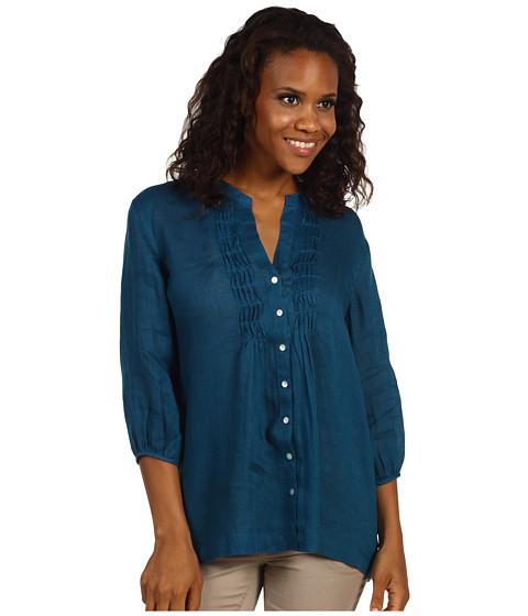 Bluze Tommy Bahama - Lani Linen Pintuck Tunic - At Sea