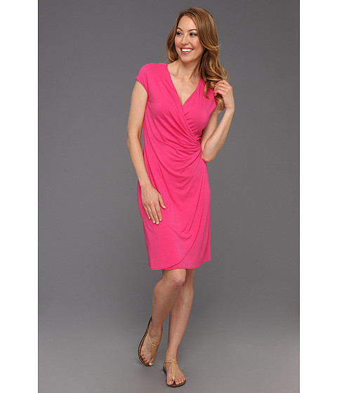 Rochii Tommy Bahama - Tambour Side Gathered Dress - Rose Bed