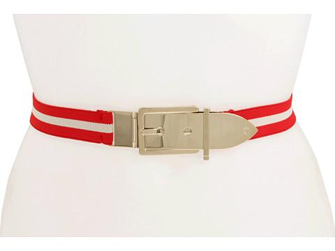 Curele Kate Spade New York - Striped Belt - Red/Cream