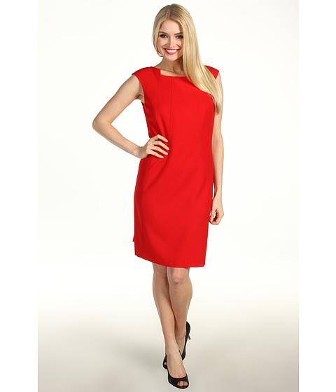 Rochii Ellen Tracy - Sheath Dress EDCMB774 - Cherry