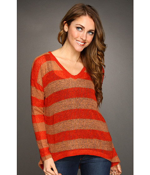 Bluze Gabriella Rocha - Annelise V-Neck Sweater - Red