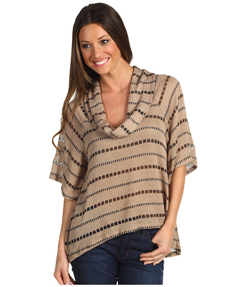 Bluze Gabriella Rocha - Ivie Striped Sweater - Taupe