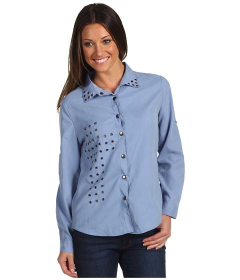 Bluze Gabriella Rocha - Penelope Button Up Shirt - Light Blue