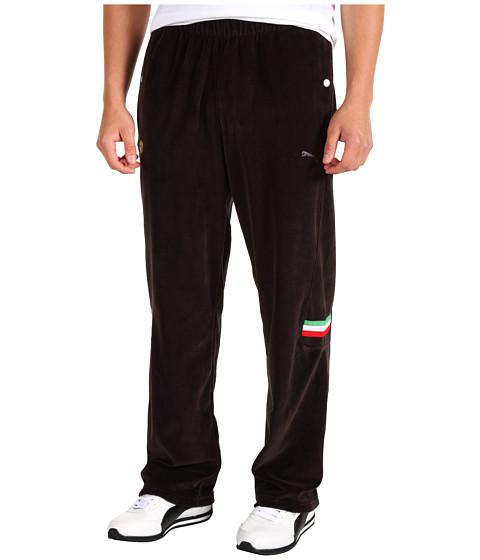 Pantaloni PUMA - Ferrari Lifestyle Velour Pant - Black