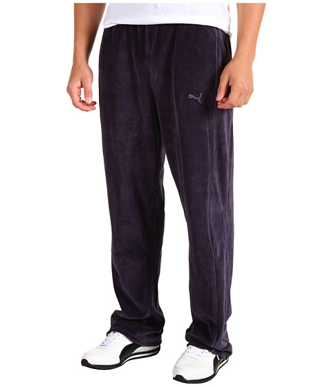 Pantaloni PUMA - Velour Pant - New Navy/Castlerock