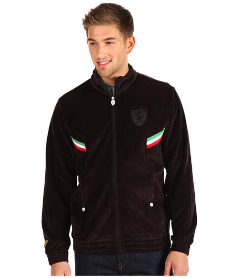 Jachete PUMA - Ferrari Velour Jacket - Black