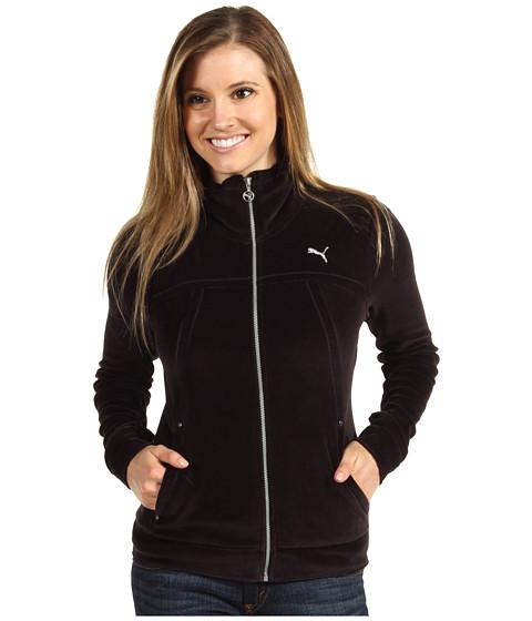 Bluze PUMA - Velour Jacket - USA Black