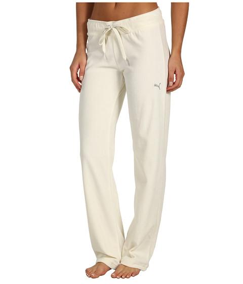 Pantaloni PUMA - Velour Pant - Whisper White