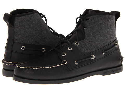 Ghete Sperry Top-Sider - A/O Sport Boot - Black/Gray Wool