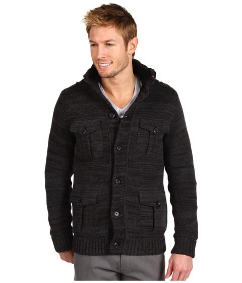 Tricouri Calvin Klein Jeans - Marled Sweater Jacket - Charcoal Heather