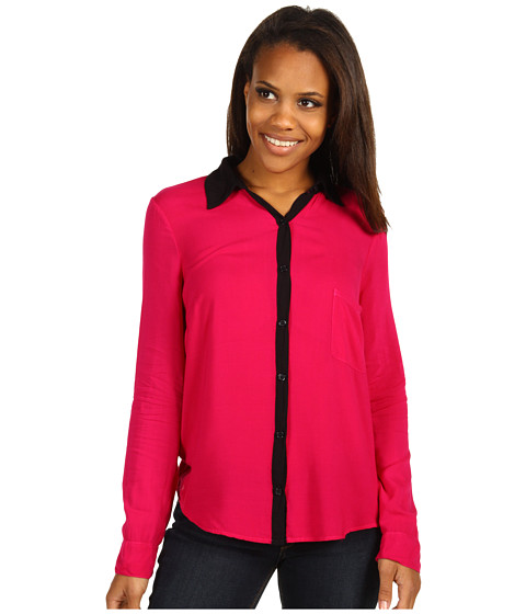 Camasi Splendid - Button Down Collared Shirting - Raspberry
