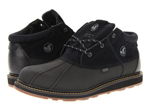 Ghete DVS Shoe Company - Hawthorne Snow - Black/Gum Nubuck