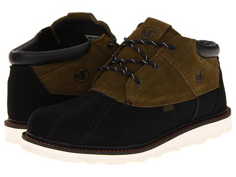 Ghete DVS Shoe Company - Hawthorne Snow - Olive Nubuck