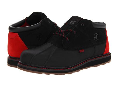 Ghete DVS Shoe Company - Hawthorne Snow - Black Leather Snow FA 13