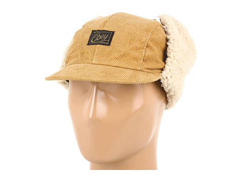 Sepci Obey - Alpine Bogey Aviator Hat - Brown